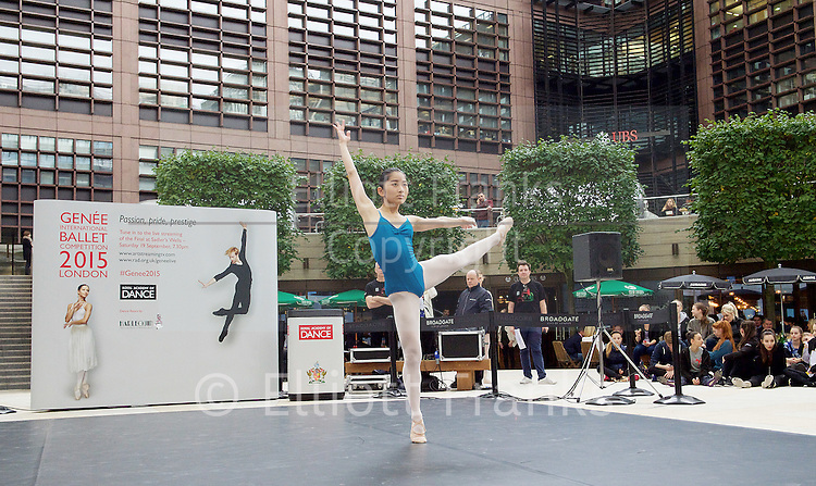 Photography from The Gen&eacute;e International Ballet Competition 2015 in London, Great Britain. 10th to 19th September 2015. <br />