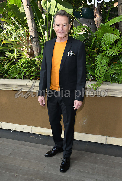"30 October 2018 - Beverly Hills, California - Bryan Cranston. ""The Upside"" Photo Call held at The Four Seasons at Beverly Hills . Photo Credit: Birdie Thompson/AdMedia"