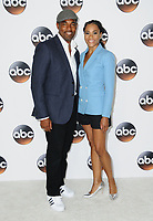 06 August  2017 - Beverly Hills, California - Jason George, Kelly McCreary.   2017 ABC Summer TCA Tour  held at The Beverly Hilton Hotel in Beverly Hills. <br /> CAP/ADM/BT<br /> &copy;BT/ADM/Capital Pictures