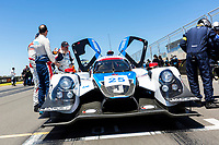 12th January 2020; The Bend Motosport Park, Tailem Bend, South Australia, Australia; Asian Le Mans, 4 Hours of the Bend, Race Day; The number 25 Rick Ware Racing LMP2 Am driven by Philippe Mulacek, Anthony Lazzaro, Guy Cosmo before the race - Editorial Use