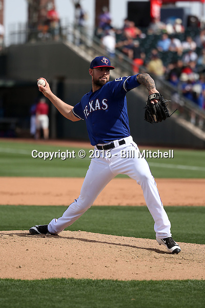 Anthony Ranaudo - Texas Rangers 2016 spring training (Bill Mitchell)