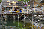 British Columbia, Canada:<br /> Refuge Cove General Store, Desolation sound