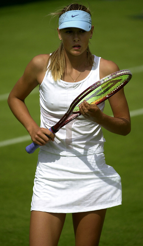 Photo: Richard Lane..DFS Classic Women's International Tennis at Edgebaston. 11/06/2003..Maria Sharapova.