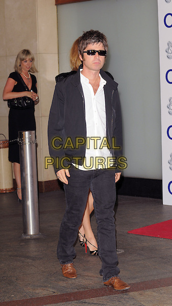 NOEL GALLAGHER .Silver Clef Awards lunch.Hilton Hotel, Park Lane, London, England.4th July 2008.full length  brown shoes.CAP/CAN.©Can Nguyen/Capital Pictures.