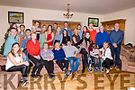 "The Lyons Gathering took place on Saturday night 29th of December in Graffa, Ballylongford which saw grandchildren, sons, daughters and their spouses return from Australia, London, Dublin and Cork.<br /> The Gathering was organised by Tom and Mary Lyons daughters Bridget and her sister Maria.<br /> Tom and Mary Lyons surrounded by their extended family who returned from London, Australia and closer to home Cork & Dublin to attend ""The Lyons Gathering"" which took place in Ballylongford."