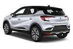 Car pictures of rear three quarter view of a 2020 Renault Captur Initiale Paris 5 Door SUV angular rear