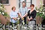 Archdeacon Susan Watterson, Niall Groves, Susan Keating at the Flower and Music Festival weekend at St. John the Evangelist,Church  Ashe St on Sunday