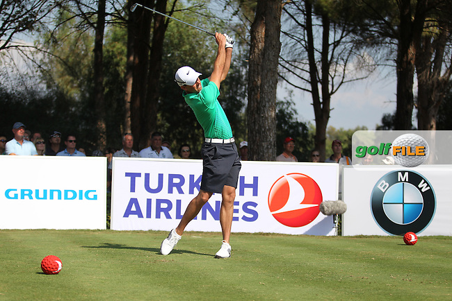 Charl Schwartzel (RSA) during the Turkish Airlines World Golf Final in Antalya Golf Club, Antalya, Turkey.Picture: Fran Caffrey/www.golffile.ie.
