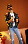 George Michael of Wham at Live Aid England 1985