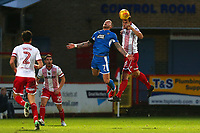 Luke Wilkinson of Stevenage and Lewis Alessandra of Notts County during Stevenage vs Notts County, Sky Bet EFL League 2 Football at the Lamex Stadium on 11th November 2017