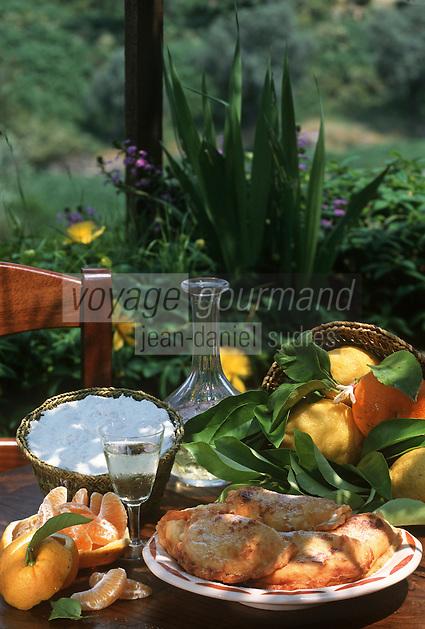 """France/2A/Corse du Sud/Péri: Chaussons au Brocciu recette de Mme Manzggi de l'Auberge """"Chez Séraphin"""""""