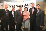 Padraic Fitzsimons, Christie Reilly, Brian Cohen, Margarete Fitzpatrick, Thomas Byrne and Noel Dempsey at the Conyngham Arms in Slane where Brian Cohen attended with Local Candidates..Photo NEWSFILE/Jenny Matthews.(Photo credit should read Jenny Matthews/NEWSFILE)....This Picture has been sent you under the condtions enclosed by:.Newsfile Ltd..The Studio,.Millmount Abbey,.Drogheda,.Co Meath..Ireland..Tel: +353(0)41-9871240.Fax: +353(0)41-9871260.GSM: +353(0)86-2500958.email: pictures@newsfile.ie.www.newsfile.ie.FTP: 193.120.102.198.