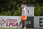 Golfer Paige Stubbs of Australia during the 2017 Hong Kong Ladies Open on June 9, 2017 in Hong Kong, China. Photo by Chris Wong / Power Sport Images