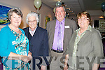TEACHERS: Teachers who attended the Causeway Comprehensive Secondry School Class 1992 reunion on Saturday night in Ballyroe Heights Hotel, Tralee, L-r: Ena Geary, Sr Ailbe Quirke, John O'Regan and Sr Rosalie Carey.
