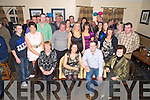 Timmy Brosnan, Muckross, picture witrh his wife Noreen, family and friends as he celebrated his 30th birthday in the Kerry Way Bar, Glenflesk on Saturday night.
