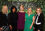 From left: The Chronicle's Naomi Engle, Joy Sewing, Jody Schmal, Melissa Aguilar and Molly Glentzer at the Houston Chronicle's Best Dressed Announcement Party at Neiman Marcus Wednesday Jan. 30, 2013.(Dave Rossman/ For the Chronicle)