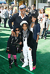 """WESTWOOD, CA. - October 26: Actors Will Smith, Jada Pinkett Smith, Willow Smith and Jaden Smith  arrive at the premiere of Dreamworks' """"Madagascar: Escape 2 Africa"""" at the Mann Village Theater on October 26, 2008 in Los Angeles, California."""