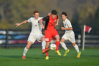 Westfield, IN - October 25, 2014: US Soccer Development Academy U-14 teams compete at the 2014 Regional showcase at Grand Park.