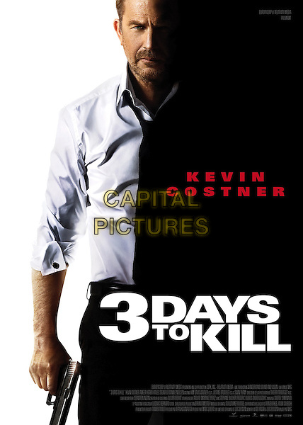 POSTER ART<br /> in 3 Days to Kill (2014) <br /> *Filmstill - Editorial Use Only*<br /> CAP/NFS<br /> Image supplied by Capital Pictures