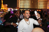 LAS VEGAS, NEVADA - JULY 24, 2016 Fabolous & French Montana attends her private birthday celebration at The Nobu Villa Suite at Caesars Palace, July 24, 2016 in Las Vegas Nevada. Photo Credit: Walik Goshorn / Mediapunch