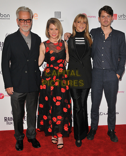 Trevor Eve, Alice Eve, Sharon Maughan and Jack Eve at the &quot;Bees Make Honey&quot; Raindance Film Festival UK film premiere, Vue West End cinema, Leicester Square, London, England, UK, on Saturday 23 September 2017.<br /> CAP/CAN<br /> &copy;CAN/Capital Pictures