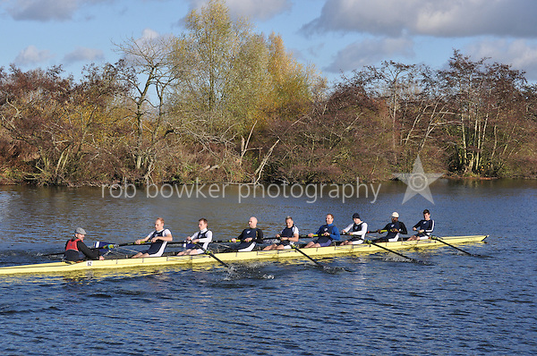 062 .PTR-Holdsworth .NOV.8+ .Putney Town RC. Wallingford Head of the River. Sunday 27 November 2011. 4250 metres upstream on the Thames from Moulsford railway bridge to Oxford Universitiy's Fleming Boathouse in Wallingford. Event run by Wallingford Rowing Club..