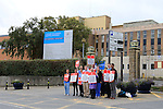 Doctors outside Our Lady of Lourdes Hospital<br /> <br /> Picture Fran Caffrey www.newsfile.ie