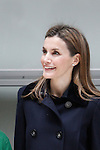 Princess Letizia of Spain attends Forum Against Cancer in Madrid, Spain. February 4, 2014. (ALTERPHOTOS/Victor Blanco)