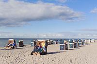 Strand von Timmendorf auf der Insel Poel, Mecklenburg-Vorpommern, Deutschland