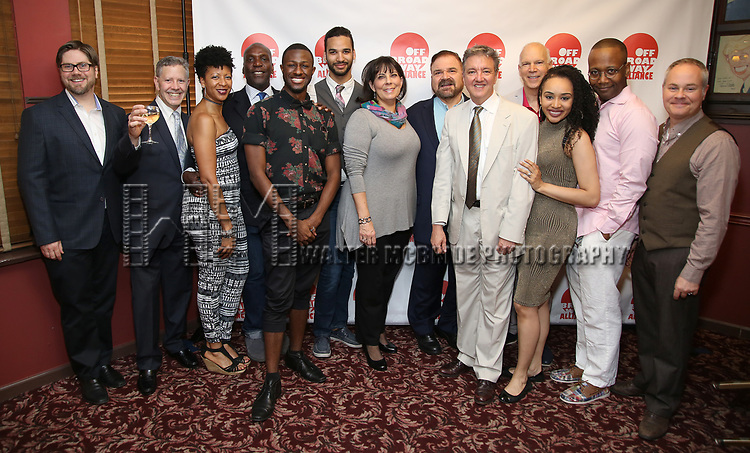 'Spamilton' Family attends the 7th Annual Off Broadway Alliance Awards at Sardi's on June 20, 2017 in New York City.