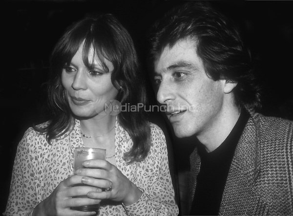 Marthe Keller and Al Pacino 1977<br />