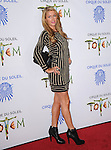 Paris Hilton attends Totem from Cirque du Soleil Premiere at Santa Monica Pier in Santa Monica, California on January 21,2014                                                                               © 2014 Hollywood Press Agency