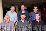 Seated L-R John daly, Florence McCarthy&Maurice O'Connor, back L-R John O'Sullivan, Ger Dwyre&John O'Keeffe all Lee Strand, on a social night out in Kingdom Greyhound Stadium, Tralee last Saturday.