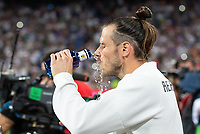 Gareth Bale of Real Madrid during the match between Real Madrid v Atletico Madrid of LaLiga, date 7, 2018-2019 season. Santiago Bernabéu Stadium. Madrid, Spain - 29 SEP 2018.