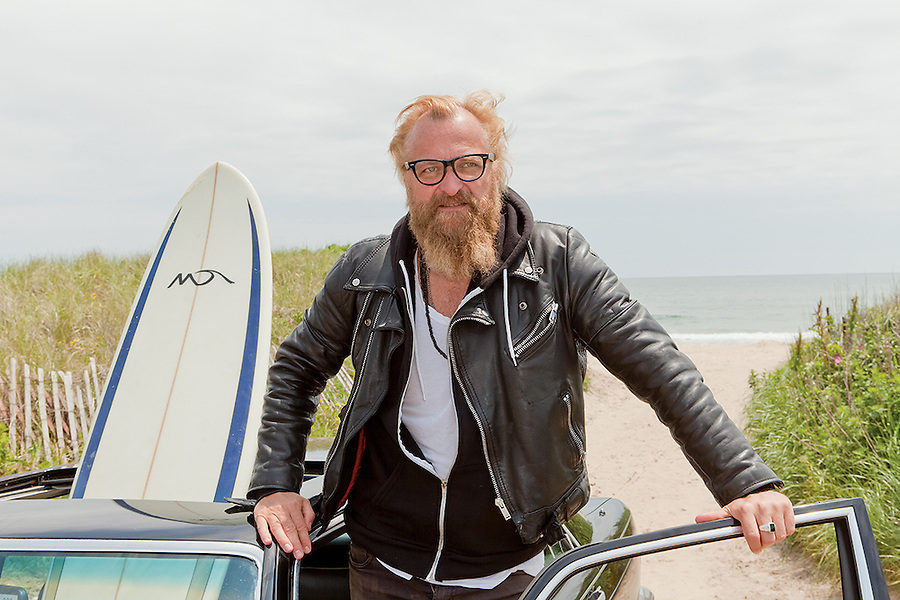 Johan Lindeberg is a Swedish fashion designer.