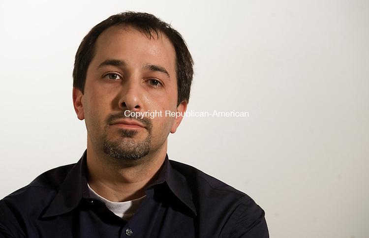 Republican-American staff writer Rick Harrison. (Photo by T.J. Kirkpatrick/Republican-American)