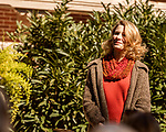 October 26, 2017. Raleigh, North Carolina.<br /> <br /> NC First Lady Kristin Cooper. <br /> <br /> A new garden designed by Ben Skelton containing native Plants For Birds was dedicated at the North Carolina Executive Mansion.