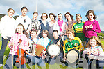FUNDRAISER: Members of Glenflesk Sco?r Group who will hold an entertainment-filled fundraiser at the Killarney Outlet Centre on Sunday next, front l-r: Cli?ona Creedon, Mairead Kelliher, Colette Cronin, Ciaran O'Sullivan, Christian Canty, Noelle Murphy. Back, l-r: Mairead O'Sullivan, Mairead O'Donoghue, Marie Cronin, Margaret Creedon (Sco?r Officer), Joanne Cashman, Norita Cashman, Helena O'Donoghue, Sinead Moynihan, Roisin Kelleher.   Copyright Kerry's Eye 2008