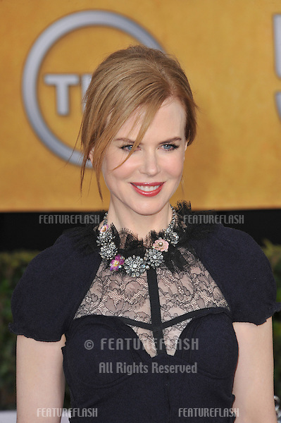 Nicole Kidman at the 17th Annual Screen Actors Guild Awards at the Shrine Auditorium..January 30, 2011  Los Angeles, CA.Picture: Paul Smith / Featureflash