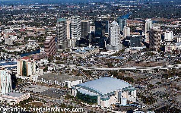 aerial photograph Tampa, Florida