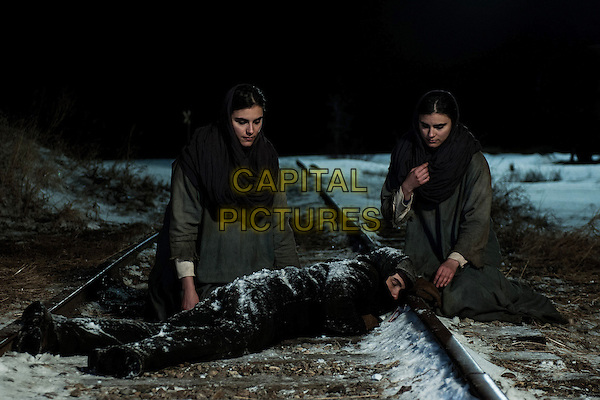 THE CUT (2015)<br /> Nazaret Manoogian (Tahar Rahim), Ani (Arevik Martirosyan) &amp; Lucine (Lara Heller)<br /> *Filmstill - Editorial Use Only*<br /> CAP/FB<br /> Image supplied by Capital Pictures