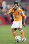 25 July 2007:  Patrick Ianni (4) of the Dynamo.  Club America was defeated by the Houston Dynamo 0-1 at Robertson Stadium in Houston, Texas, in a first round SuperLiga 2007 match.