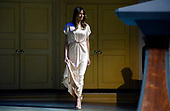 United States President Donald J. Trump and First Lady Melania Trump walk on stage during the annual gala at the Ford's Theatre to honor President Abraham Lincoln's legacy, on June 4, 2017 in Washington, DC. <br /> Credit: Olivier Douliery / Pool via CNP