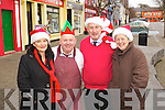 That Christmas feeling in Listowel, Traders pictured in the Square are from Left: Ciara O'Connor, Listowel Upholstery, Mark O'Brien, Brendan O'Mahonys Butchers, John Carroll, MJ Carrolls and Mary Horgan, Horgan Properties.