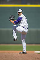 Winston-Salem Dash relief pitcher Jacob Morris (31) in action against the Salem Red Sox at BB&T Ballpark on April 17, 2016 in Winston-Salem, North Carolina.  The Red Sox defeated the Dash 3-1.  (Brian Westerholt/Four Seam Images)