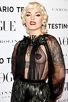 Vogue and Mario Testino photocall in Madrid