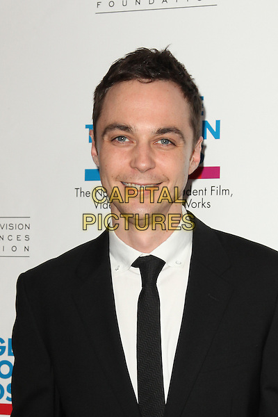 JIM PARSONS.Arrivals to the Academy of Television Arts and Sciences Foundation 31st Annual College Television Awards at the Renaissance Hotel, Hollywood, CA, USA, April 10th, 2010. .portrait headshot black suit tie white shirt .CAP/CEL .©CelPh/Capital Pictures