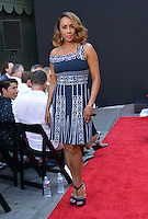 Vivica A. Fox @ Emmerich Hand and Footprint Ceremony held @ the Chinese theatre.<br /> June 20, 2016.