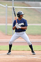 Franklin Romero - Milwaukee Brewers - 2010 Instructional League.Photo by:  Bill Mitchell/Four Seam Images..