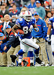 21 September 2008: Buffalo Bills' tight end Robert Royal in action against the Oakland Raiders at Ralph Wilson Stadium in Orchard Park, NY. The Bills rallied for 10 unanswered points in the 4th quarter to defeat the Raiders 24-23 marking their first 3-0 start of the season since 1992...Mandatory Photo Credit: Ed Wolfstein Photo